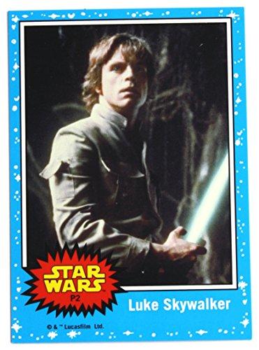 Star Wars Topps Promo Trading Cards/P2 Luke Skywalker & P3 Darth Vader