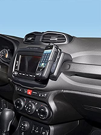 Since 2014 Kuda 1465 Leather Mount Black Compatible with Jeep Cherokee