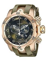 Invicta Men's 11954 Venom Analog Display Swiss Quartz Green Watch