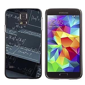 Licase Carcasa protectora - Abstract Math Science Pattern - Samsung Galaxy S5