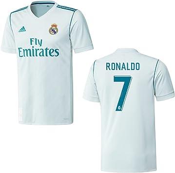 adidas Real Madrid Camiseta Home Niños 2018 – Cristiano Ronaldo 7, 176: Amazon.es: Deportes y aire libre