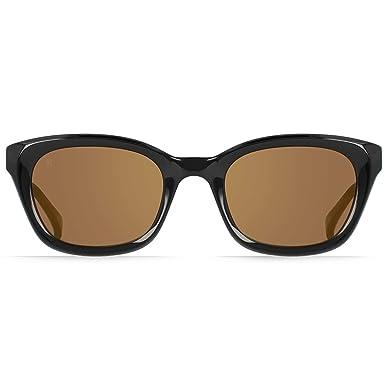 933885e0ab7 Amazon.com  RAEN Optics Unisex Clemente 52 Black Carmel Mirror One ...