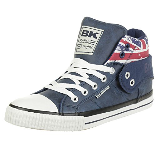 Chevaliers Britanniques Sneaker Salut Coupe Roco Bleu / Union Jack