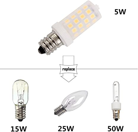 E14 Bulb 360 °angle Modern LED Salt lamp Globe bulb Lamp 5W Useful New