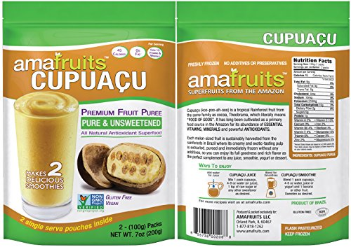 Amafruits Cupuacu Pure & Unsweetened by Amafruits (Image #1)'