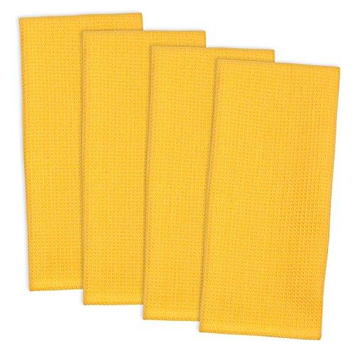 waffle weave kitchen towels - 4