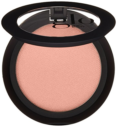 (Glo Skin Beauty Powder Blush in Sweet - Shimmery Soft Peachy Pink | 9 Shades | Cruelty Free, Talc Free Mineral Makeup)