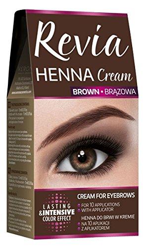 Revia Henna Eyebrow Applications Lashes