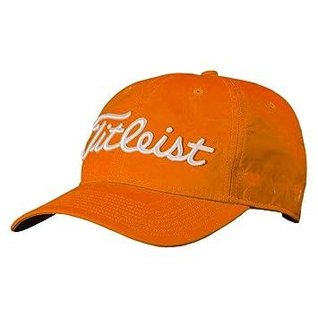 Amazon Com Titleist Tour Performance Golf Cap 2018 Orange One Size