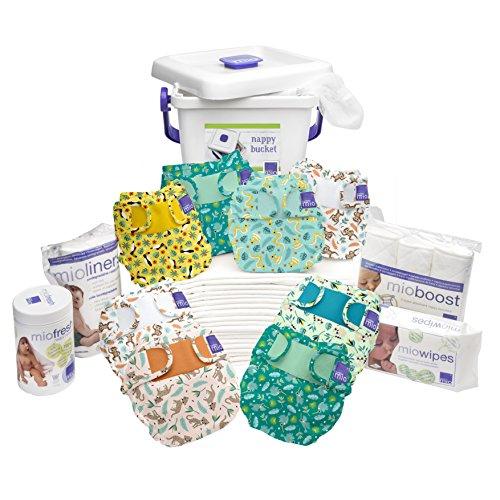 Bambino Mio Miosoft Premium Birth to Potty Pack, Rainforest