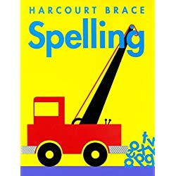 Harcourt Brace Spelling: Consumable Student Edition Grade 1 2000