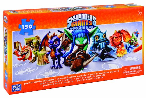 Skylanders Giants Mega Puzzles 150 Piece Panoramic Jigsaw by Activision