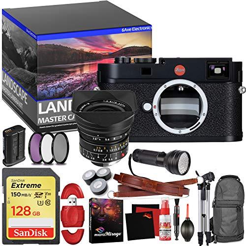 Leica M (Typ 262) Digital Rangefinder Camera - Master Landscape Photographer Kit - Memory Card - Accessories with Leica 18mm f/3.8 Lens - Leica Digital Rangefinder