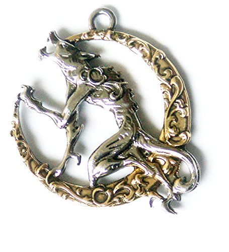 Children of the Night Song of the Lycan Werewolf for Transformation Pendant Charm Amulet Talisman (Best Female Werewolf Transformation)