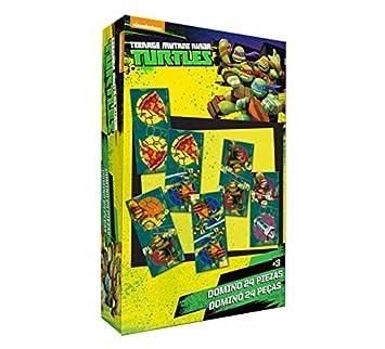 Juego domino Tortugas Ninja 24pz: Amazon.es: Juguetes y juegos