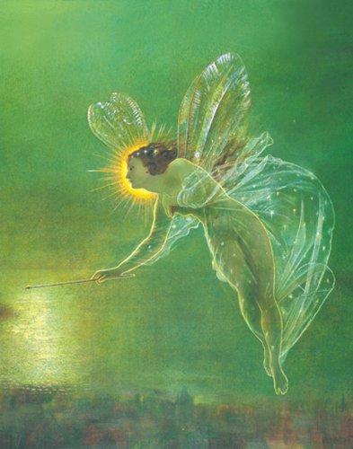 John Atkinson Grimshaw Spirit of the Night Decorative Fairy Fantasy Art Postcard Poster Print 11x14