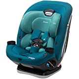 Maxi-Cosi Magellan 5-in-1 Convertible Car Seat for Infant, Toddler, Child, with 1-Click Latch and Base, Emerald Tide