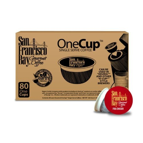 San Francisco Bay Coffee, OneCup Single Serve Cups (Fogchaser, 160 Count)