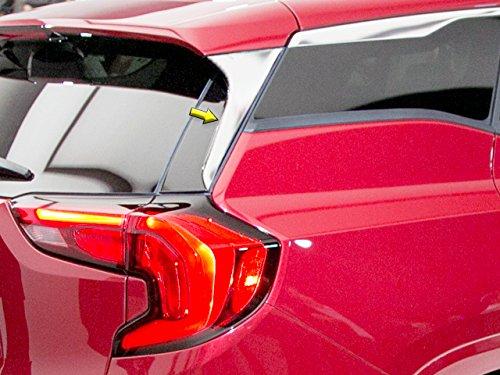 QAA FITS Terrain 2018-2019 GMC (2 Pc: Stainless Steel Rear Window Trim, 4-Door, SUV) RW58275 Quality Auto Accessories