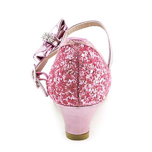 Dress Peagent Kid Girls Kid Shoes Glitter Ii Big Little Platform Toddler Pink Link IUZwR
