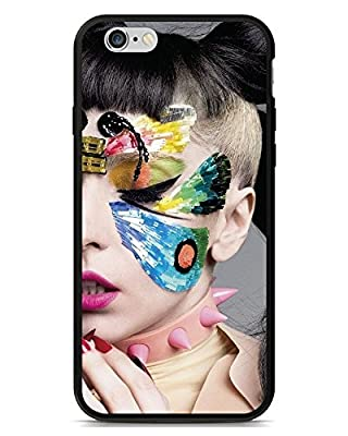 Hot High-end Case Cover Lady Gaga Face Painting iPhone SE/iPhone 5/5s phone Case