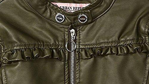 58b0965ab Jual Urban Republic Girls Faux Leather Jacket Kids Biker Motorcycle ...
