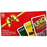 Toys : Cards Gift Pack - Uno Express, Pictionary and Scarbble Card Games - All in One, Pack of 3