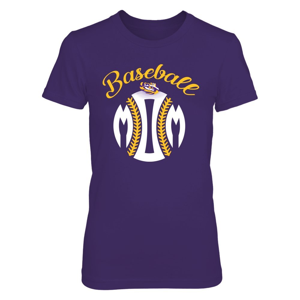 Lsu Tigers Tshirt Baseball Mom