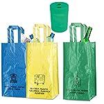 Natuiahan-Pack-de-3-Bolsas-de-Reciclaje-Duraderas-Robustas-Practicas-y-Faciles-de-Limpiar-y-Transportar-Incluye-un-Pequeno-Contenedor-de-Reciclaje-de-Pilas
