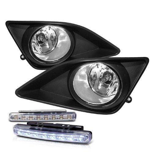 rxmotoring 2009 2010 toyota corolla fog lights 8 led 2015 toyota corolla led fog lights 2014 toyota corolla led fog lights