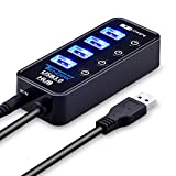 USB 3.0 Hub, Tendak USB Hub with 4 USB 3.0 Data