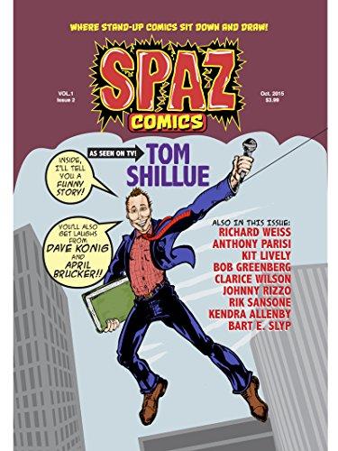 SPAZ Comics Issue 2