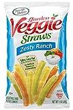 #7: Sensible Portions Garden Veggie Straws, Zesty Ranch, 1 oz. (Pack of 24)