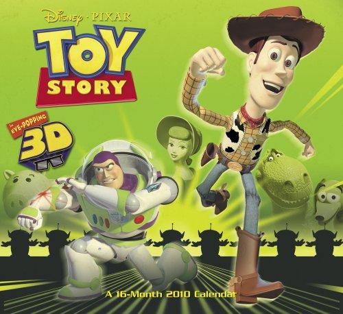 Disney Toy Story 3D 2010 Wall Calendar ()