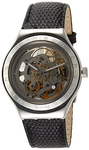 Swatch BODY & SOUL LEATHER Mens Watch (Swatch Automatic Watch)
