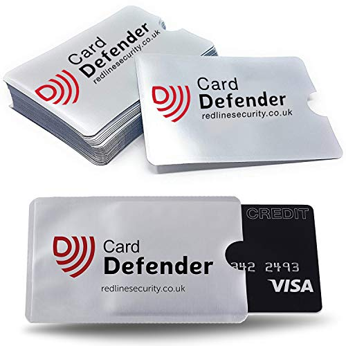 RFID Blocking Sleeves Contactless Cards - RFID Credit Card Protector  Waterproof and Tear Proof - Debit Card Protector Sleeve for Privacy and  Property