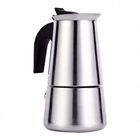 SYSWJ Cafetera Portable Espresso Coffee Maker Moka Pot ...