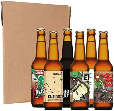 Pack degustación de cerveza artesana (6 botellines / latas de 33 ...