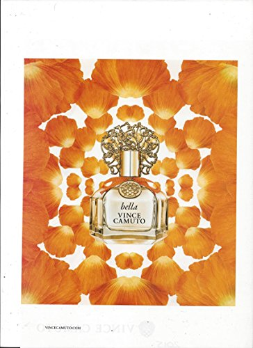 PRINT AD For Vince Camuto Bella Flower Petal ScenePRINT AD