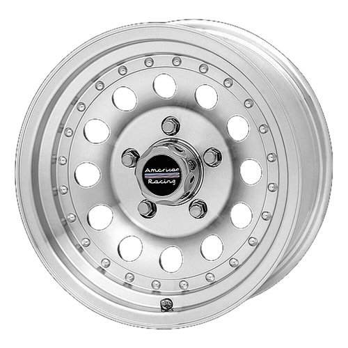 Outlaw Vintage Glove - American Racing Outlaw II AR62 Machined Wheel with Clear Coat (16x8