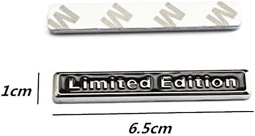 3D Metal LIMITED EDITION Black Car Rear Lid Fender Trunk Badge Sticker Emblem