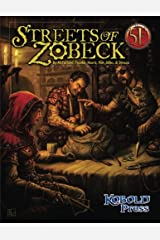 Streets of Zobeck: for 5th Edition Paperback
