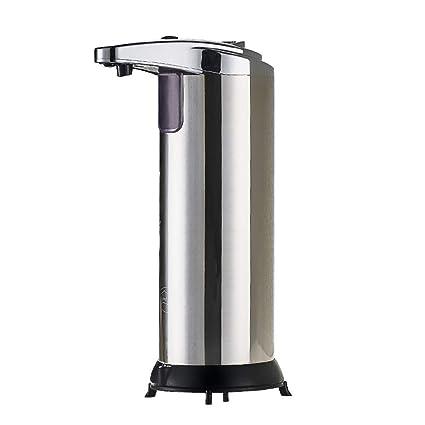 GZF Dispensador de jabón líquido Dispensador de jabón de Acero Inoxidable automático de inducción de Lavado