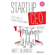 Startup CEO: A Field Guide to Scaling Up Your Business Audiobook by Matt Blumberg Narrated by William Michael Redman