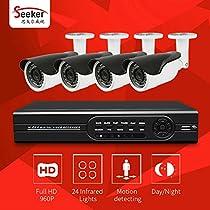 4CH CCTV System 1080N HDMI AHD CCTV DVR 4PCS 960P HD IR Night Vision Outdoor Home Security Camera Surveillance System Kit
