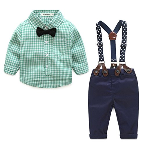 Jacket Pants Shirt Bow Tie - 4