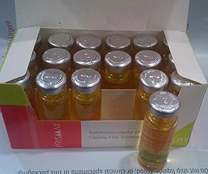 Ampollas Capilares Prismax efecto Botox, Producto ORIGINAL (Caja 18 Unidades de 15cc)