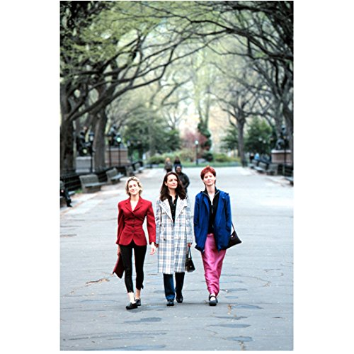 Sex and the City 8x10 Photo Sarah Jessica Parker, Kristin Davis & Cynthia Nixon Walking in Street kn