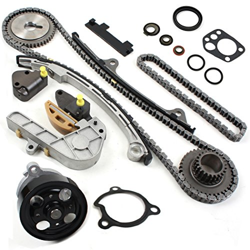 NEW TK10060WP Timing Chain Kit & Water Pump Set for 02-06 Nissan 2.5L Altima Sentra QR25DE