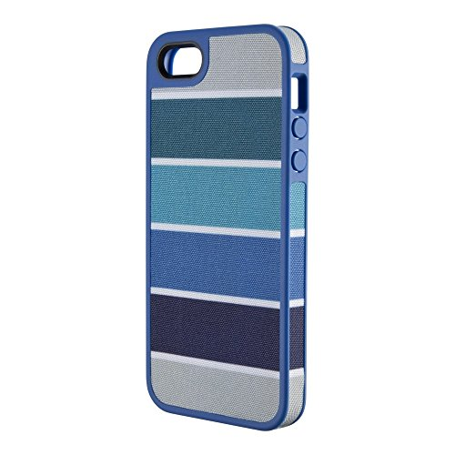 Speck Fabshell Case iPhone 5 5s SE Color Bar Arctic Cobalt Blue 71167-B620
